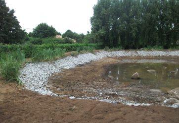 aménagement d'étang